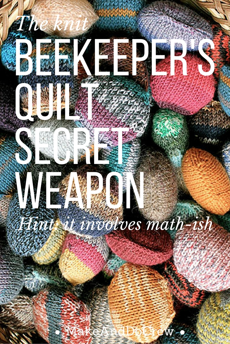 Beekeeper s Quilt Knitting Pattern Free : how to assemble the beekeepers quilt--free template