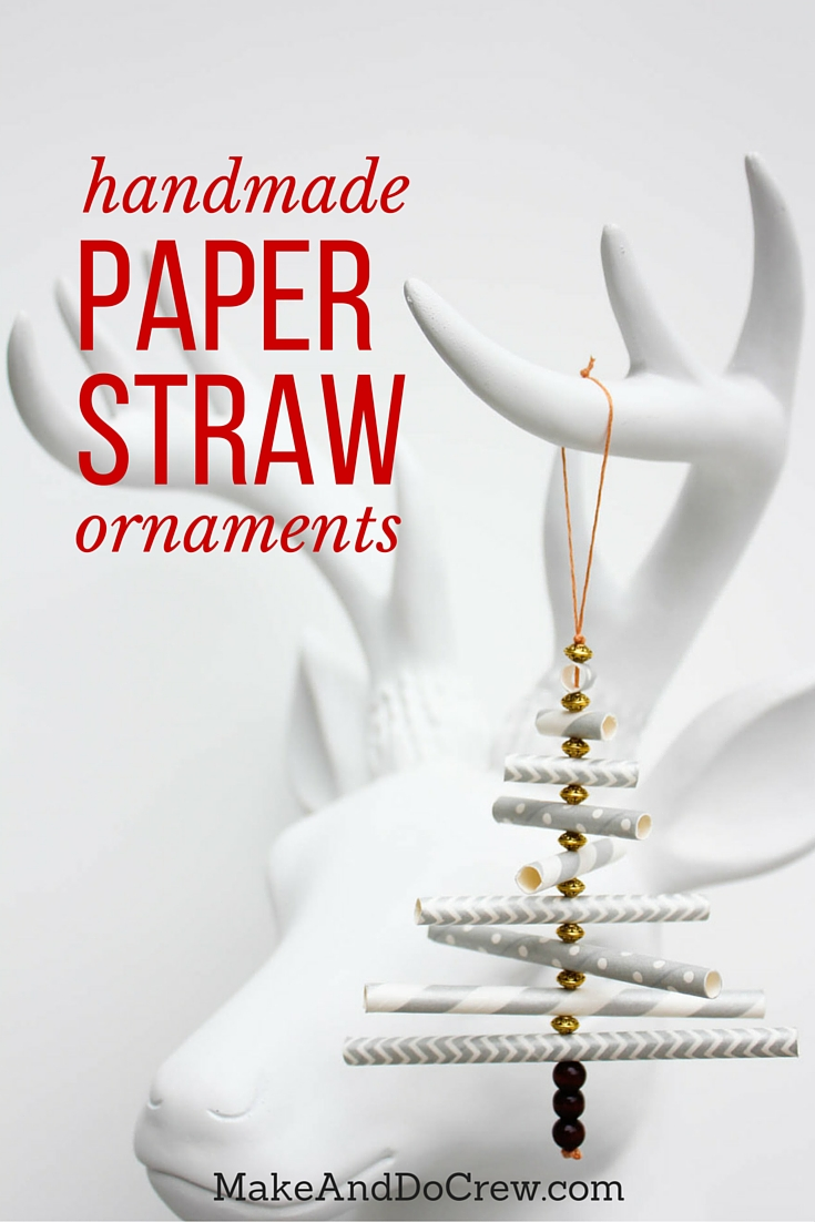 Diy christmas ornament tutorial using paper straws how to make stunning diy christmas ornaments from paper straws super easy and cheap craft jeuxipadfo Choice Image