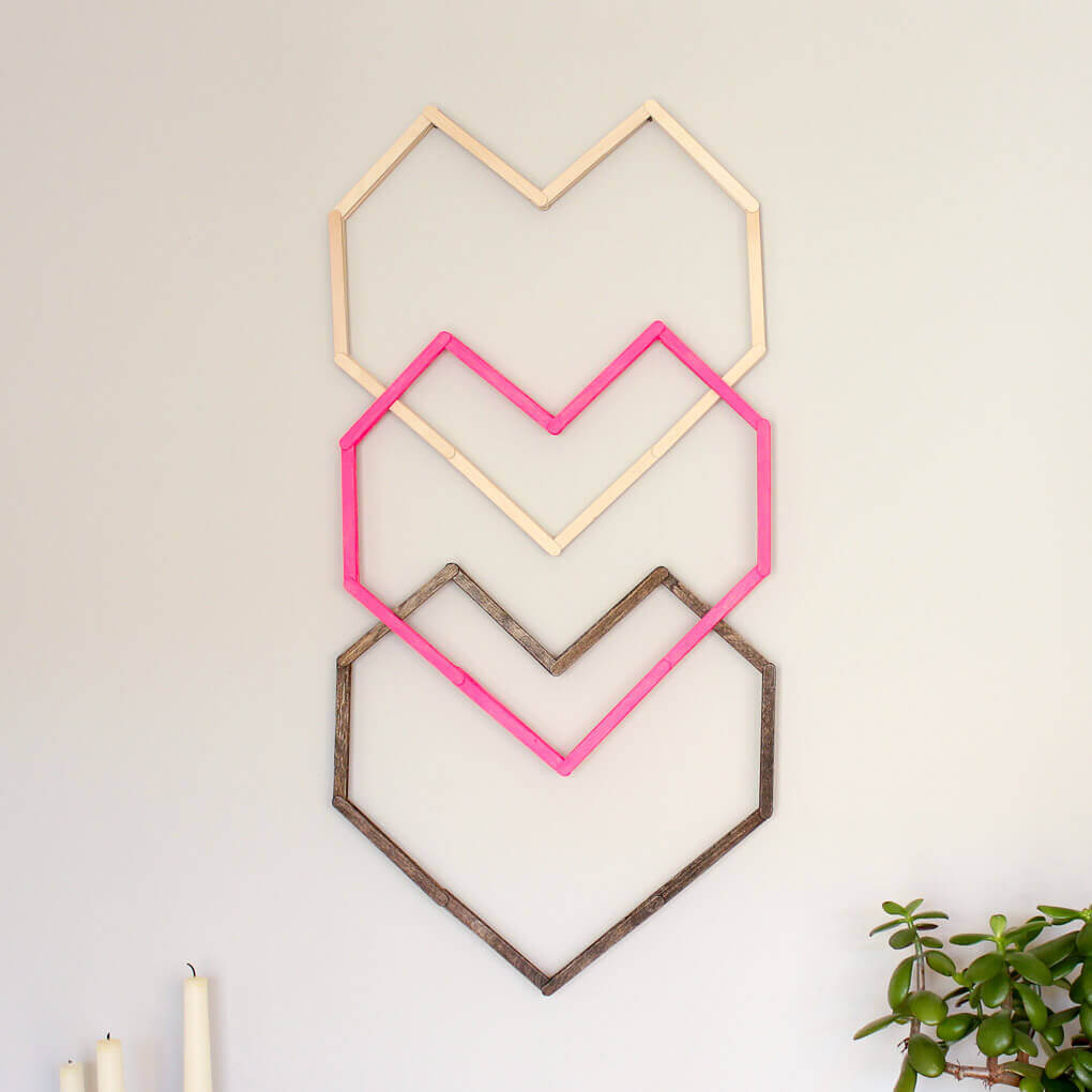 This Graphic, Modern DIY Wall Art Idea Is Perfect For A Hip Nursery, Bedroom Part 81