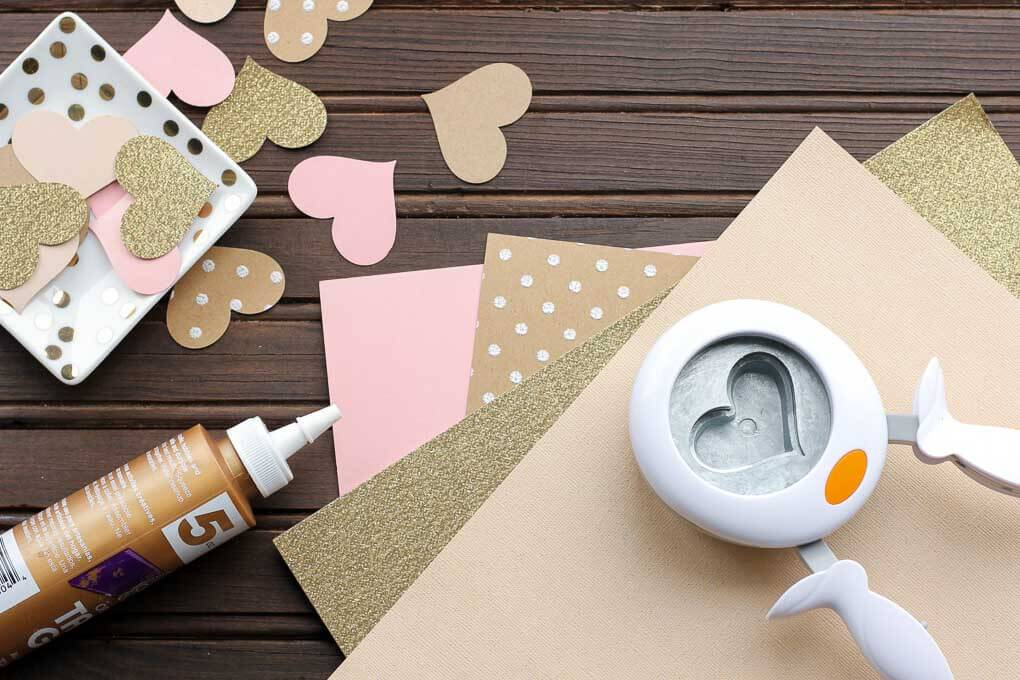 Diy Paper Heart Garland Wedding Photo Booth Backdrop