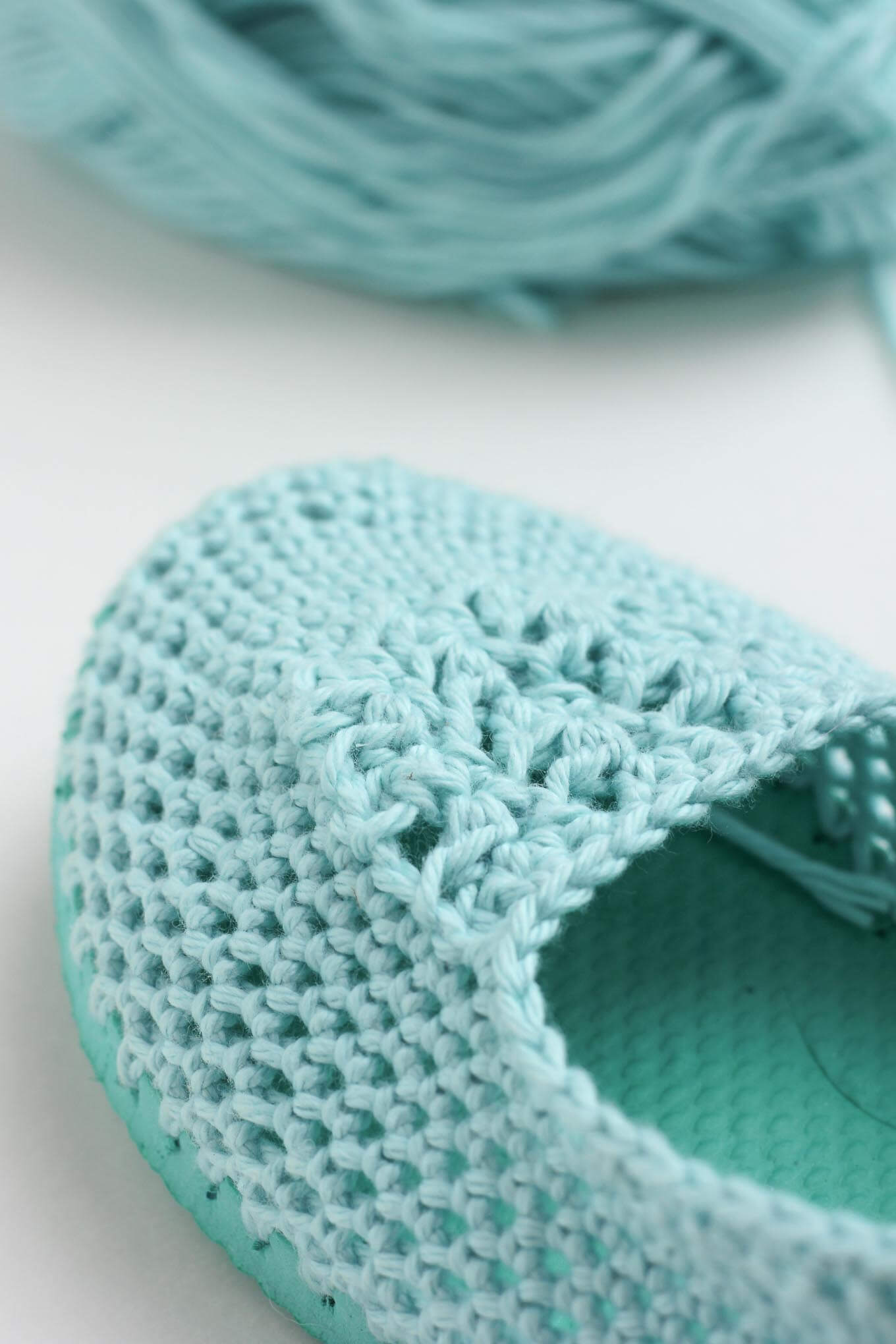 Crochet Slippers With Soles Free Crochet Patten Using