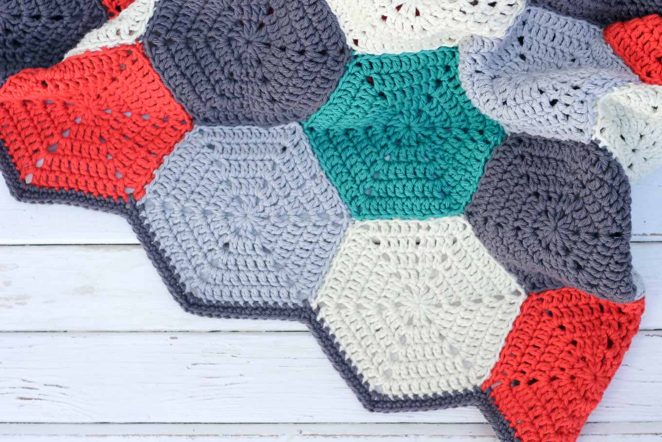 Free Crochet Hexagon Hippo Pattern :