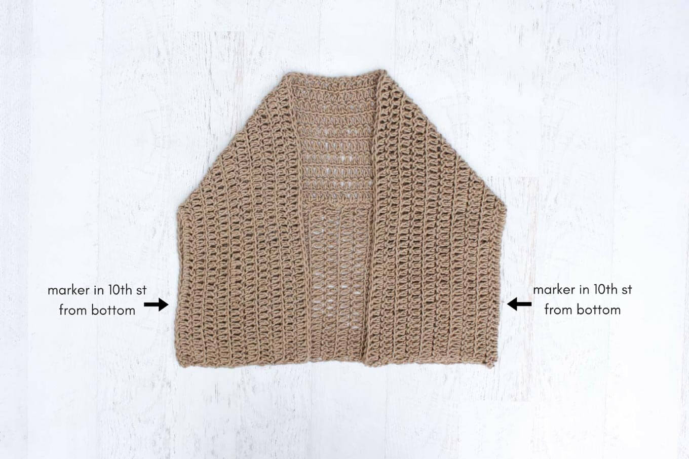 Cocoon Cardigan Free Crochet Pattern - Make & Do Crew