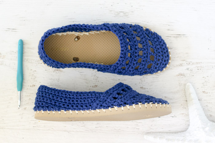 Crochet Shoes With Rubber Soles