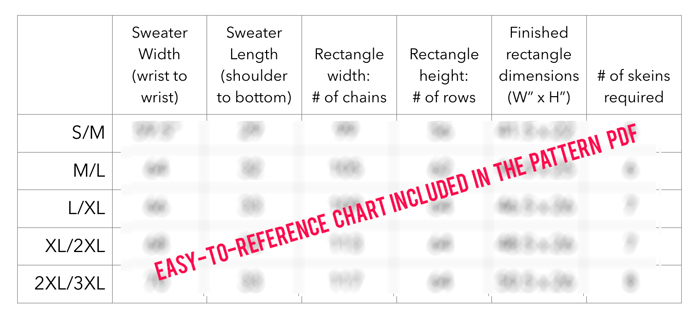 How to crochet the Habitat Cardigan Sweater pattern from Make and Do Crew.