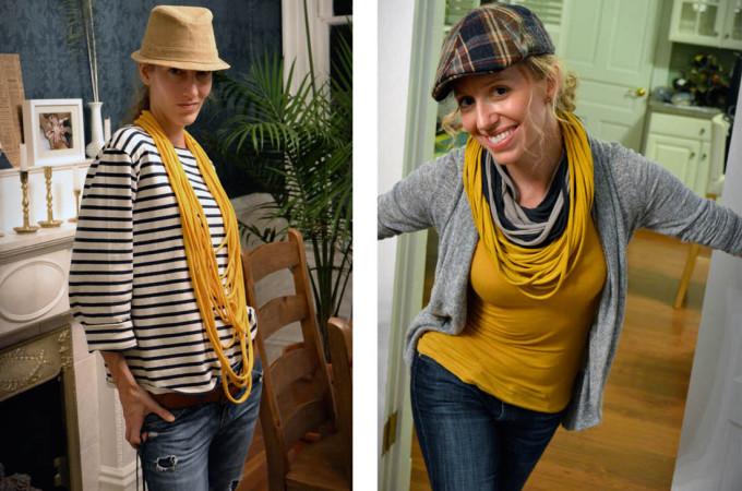 Craft Night–T-Shirt Scarves!