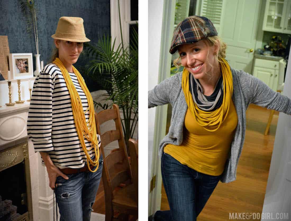 T_shirt_scarf_model