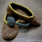 Felted Knit Slippers (Make In 2 Hours!)