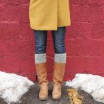 Knit Boot Topper Pattern