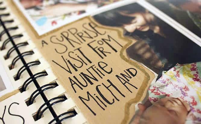 creative baby book ideas