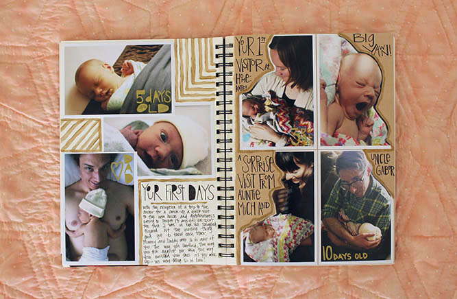 interesting baby book ideas