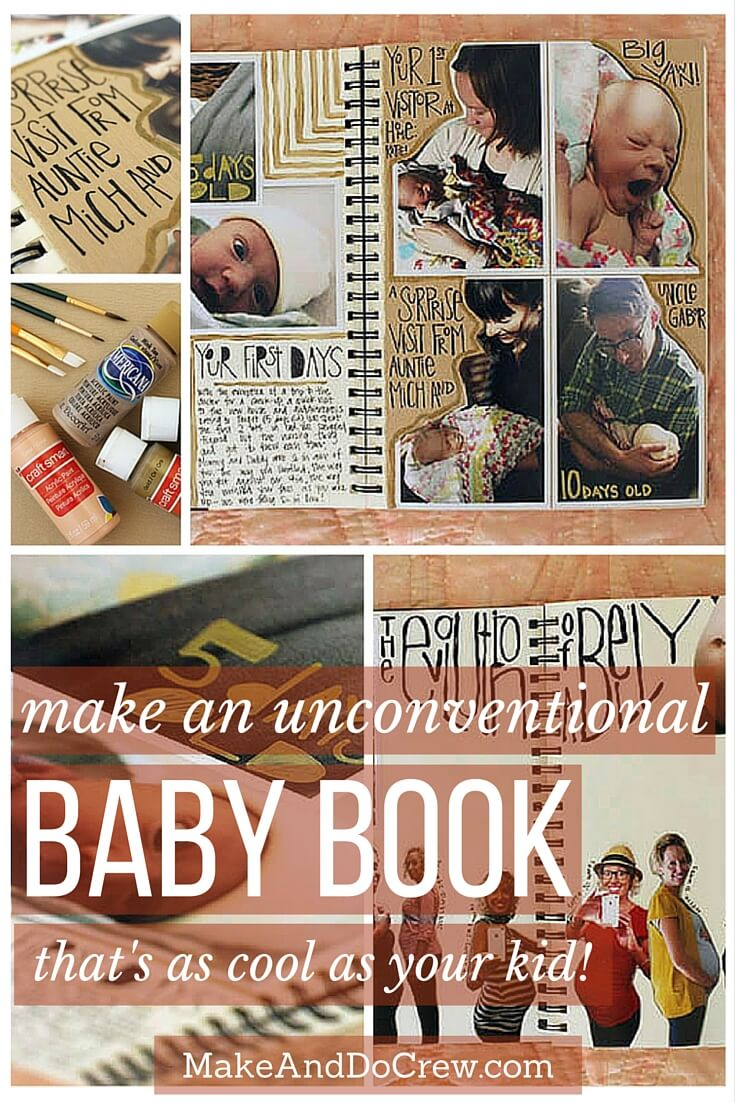 Diy Creative Baby Book Ideas And Tips