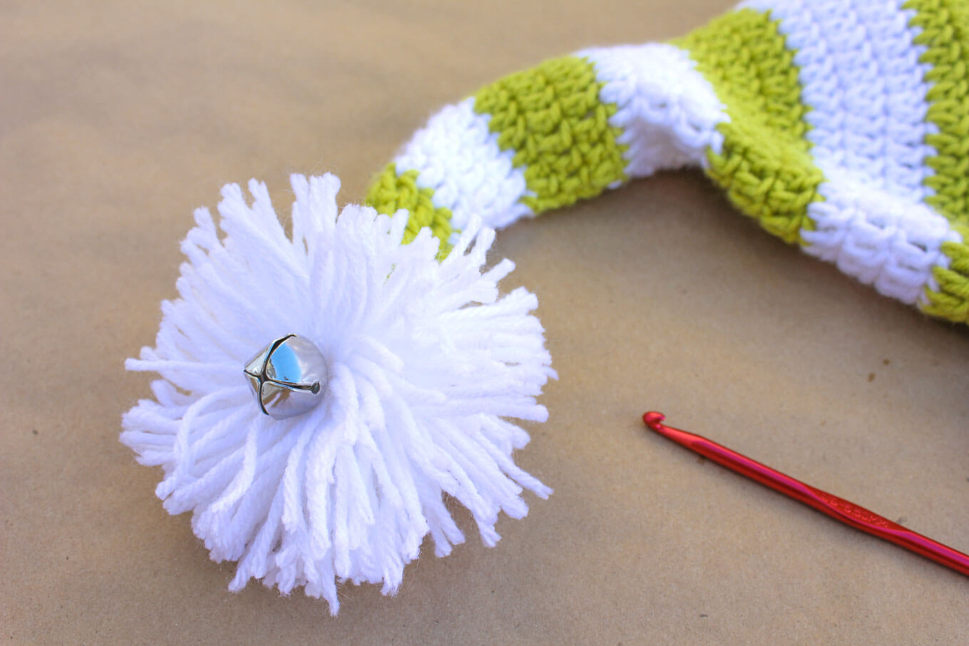 Free Crochet Elf Hat Pattern With Ears Make One For Each Member Of The Family