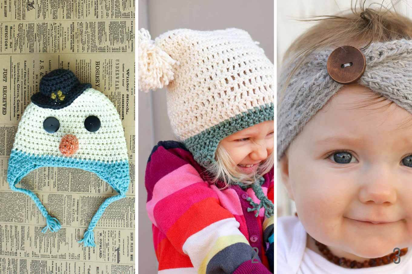 Famous Free Winter Crochet Patterns Images - Sewing Pattern for ...