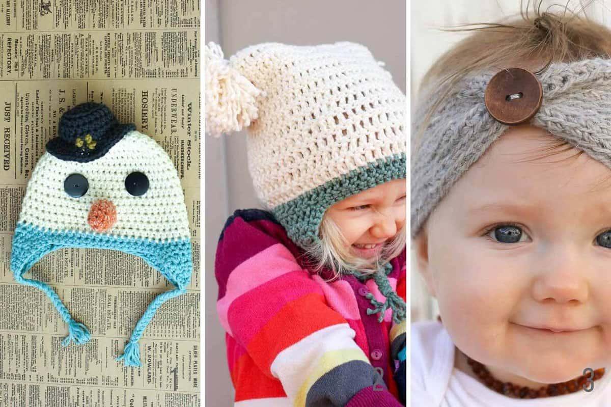 free-winter-crochet-patterns-for-kids - Make & Do Crew