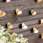 DIY Paper Heart Garland Tutorial