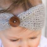 """Aspen Socialite"" Free Crochet Headband Pattern (Baby-Adult Sizes!)"