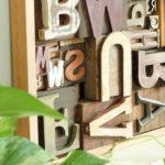 DIY Art Idea With Faux Letterpress Print Blocks