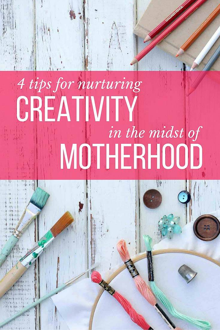 A creative blogger's actionable tips on nurturing your creative interests while also being in the trenches of motherhood. | MakeAndDoCrew.com