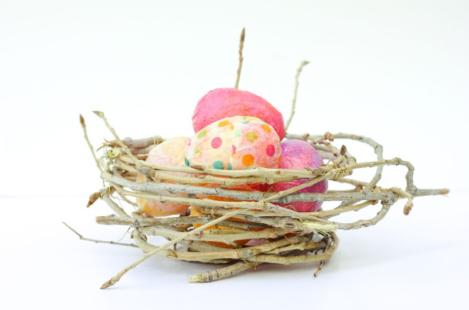 How To Make a Decorative Bird's Nest Out of Twigs