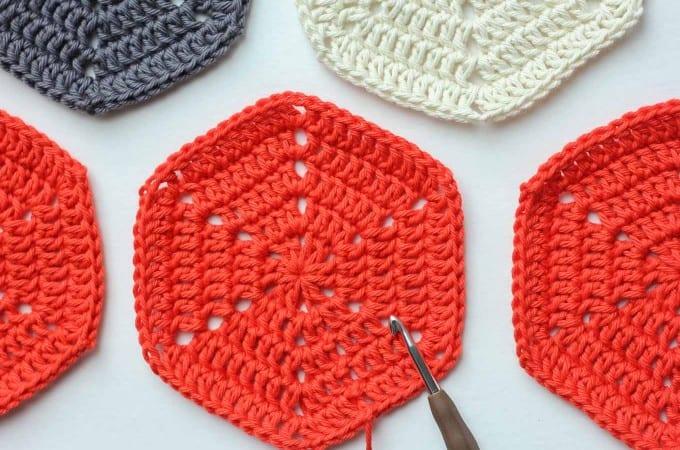 Basic Crochet Hexagon Pattern + Tips