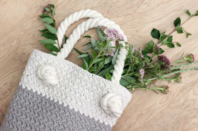 """Suzette"" Free Crochet Bag Pattern For Beginners"