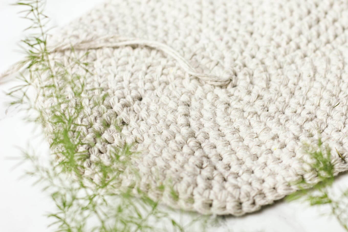 Twine Leather Free Crochet Basket Pattern 2 Make Do Crew
