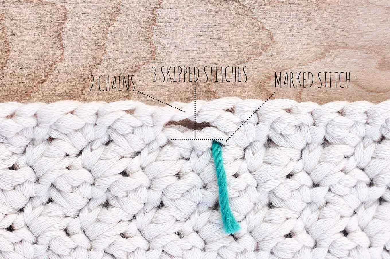 How to crochet the Suzette stitch and add button holes. Full photo tutorial.