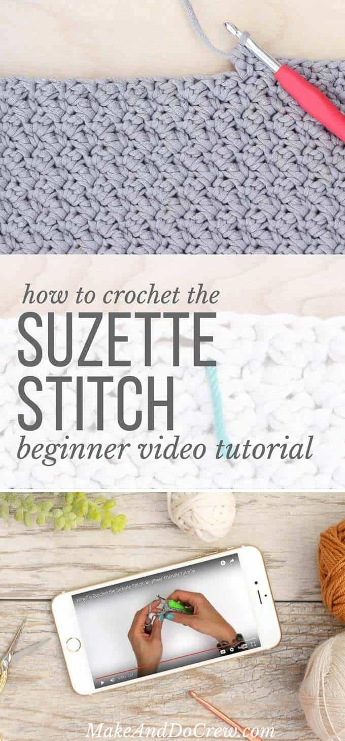 How-to-crochet-suzette-stitch-beginner-video-tutorial - Make & Do Crew