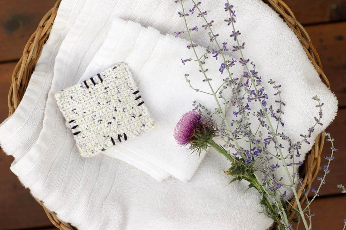 Crochet Dried Lavender Sachets Free Beginner Pattern