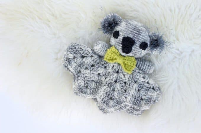 Cuddly Koala – Free Crochet Lovey Pattern