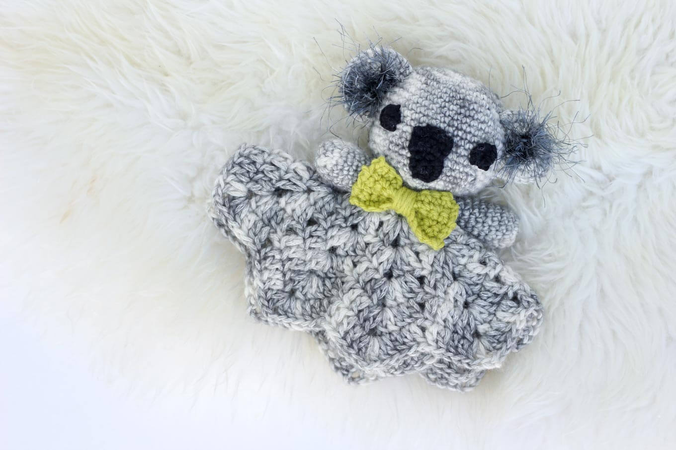 Free Crochet Pattern Koala Lovie Baby 12 187 Make Amp Do Crew