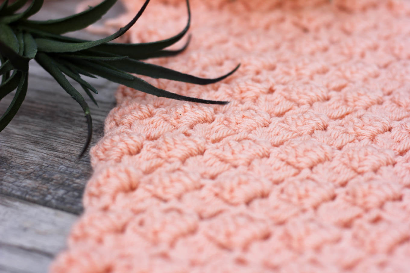 The side saddle crochet stitch has a lovely, repetitive look that is both airy and substantial at the same time. Check out this video tutorial to learn how to do it step-by-step!