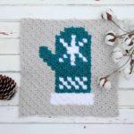 Mitten C2C Crochet Afghan Graph – Free Pattern