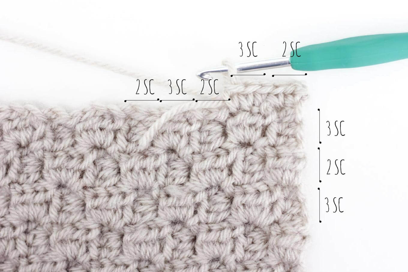 You've worked diligently on creating corner-to-corner crochet squares and now you're wondering what to do with them, right? This tutorial will show you how to add a border to a C2C afghan block so that it's ready to be sewn together into a blanket.