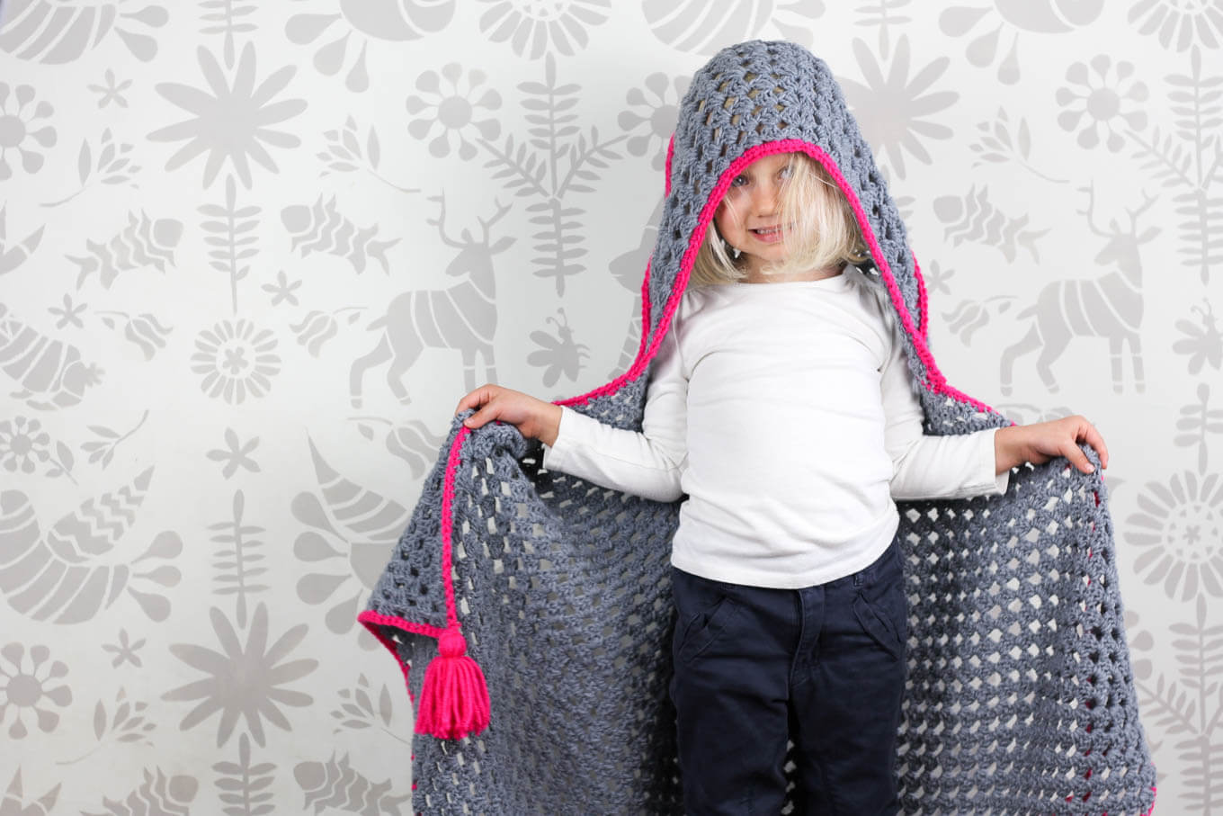 hooded-baby-blanket-free-crochet-pattern-7 - Make & Do Crew