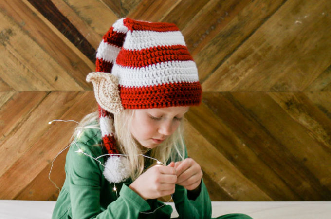 Free Crochet Elf Hat Pattern (With Ears!) – Baby-Adult Sizes