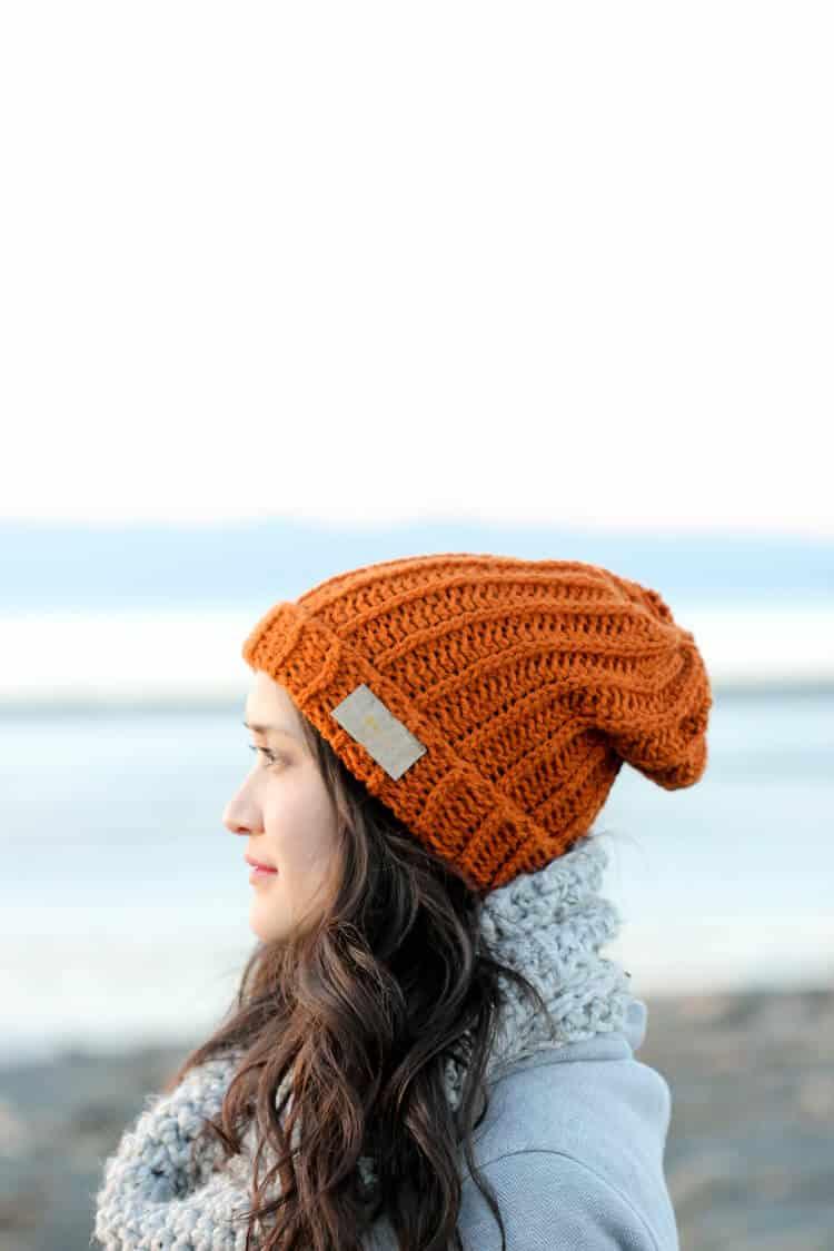 Free crochet hat pattern from Delia Creates