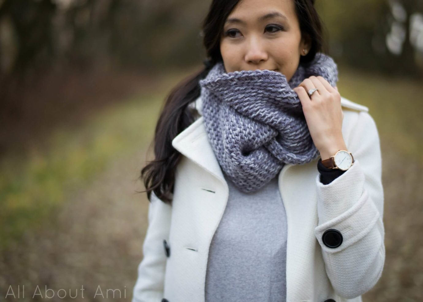Free crochet cowl pattern from All About Ami