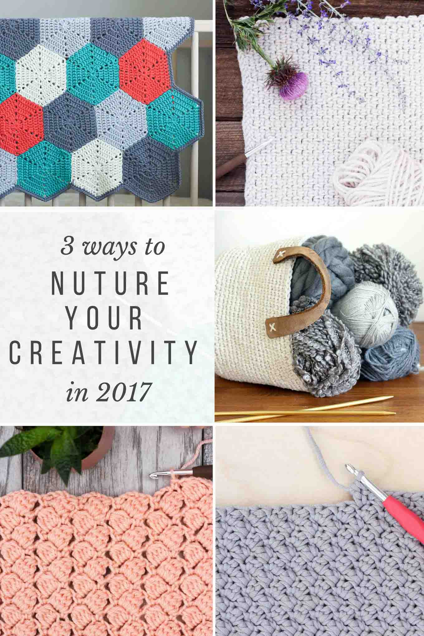 Tips for nurturing your creative hobbies like knit and crochet with DIY projects for your home.
