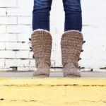"""Breckenridge"" Crochet Boots with Flip Flop Soles – PART 2"