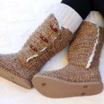 """Breckenridge"" Crochet Boots with Flip Flop Soles – Part 3"