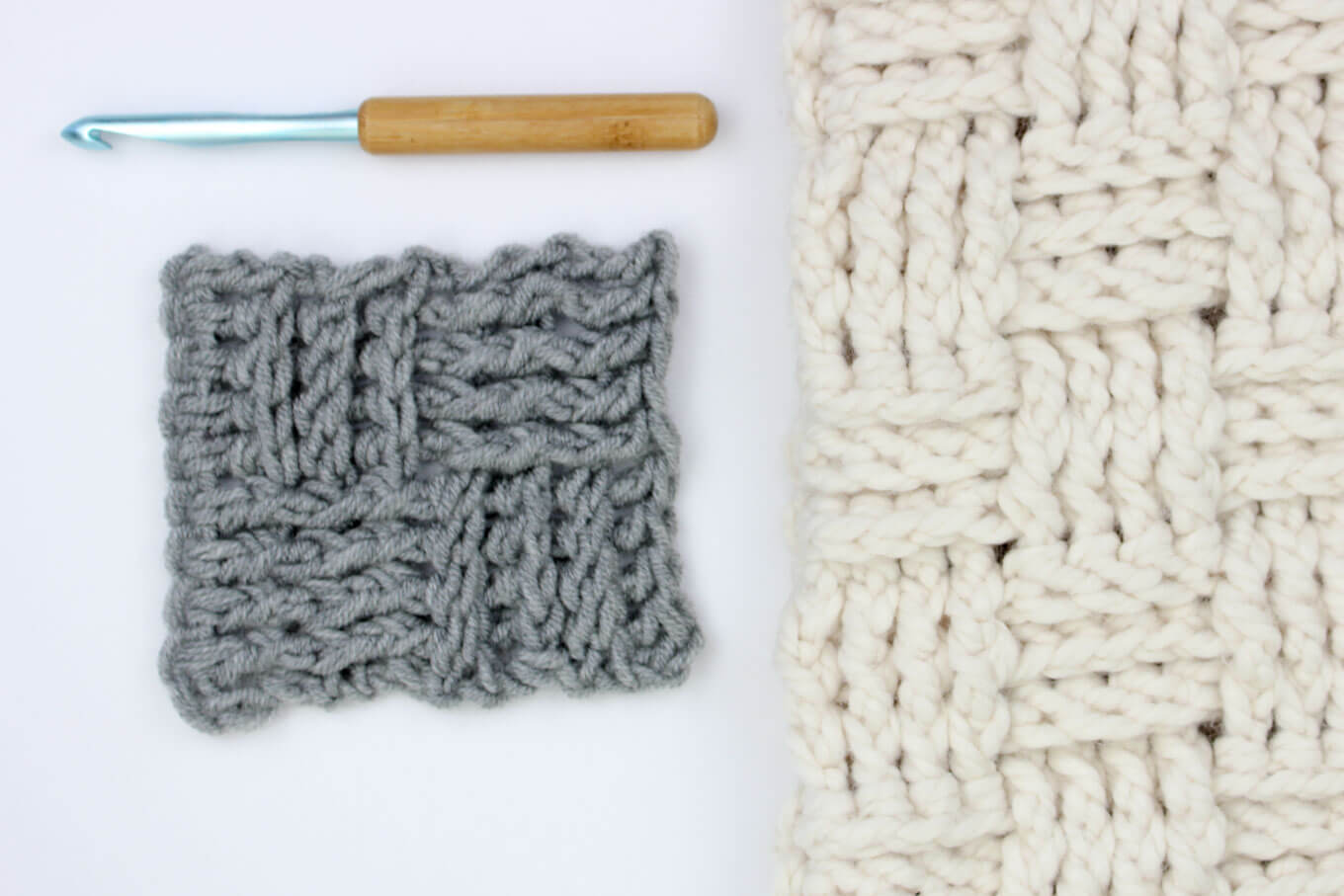 crochet-basket-weave-stitch-video-tutorial - Make & Do Crew