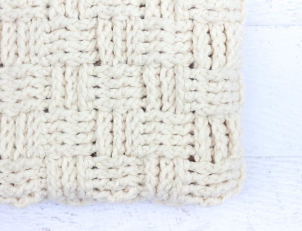 Learn how to crochet the basket weave stitch in this step-by-step video tutorial. The basket weave stitch is modern, beautifully textured and perfect for afghans and blankets.