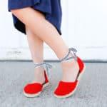 Crochet Espadrilles With Flip Flop Soles – Free Pattern