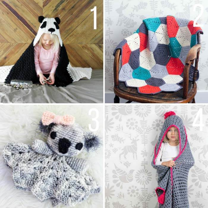 So cute! Free crochet patterns for babies and children from MakeAndDoCrew.com.
