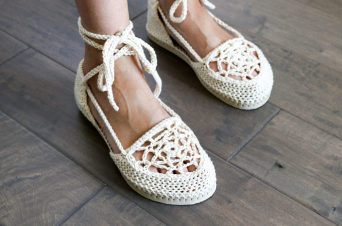 Dream Catcher Crochet Flip Flop Sandals – Part 2