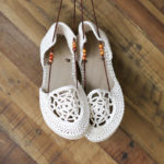 Dream Catcher Crochet Sandals with Flip Flop Soles – Part 1