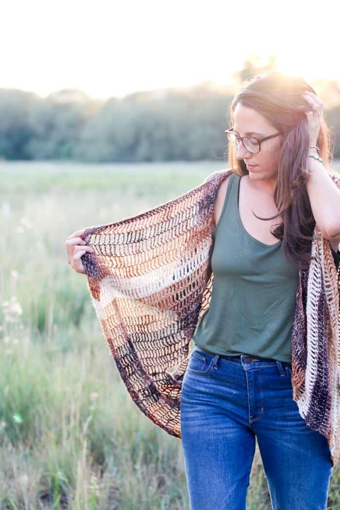 Serenity Free Crochet Vest Pattern Make Do Crew