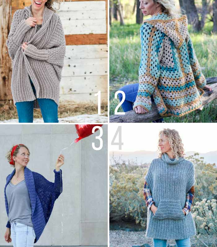 Free Crochet Sweater Patterns For Beginners 3 Make Do Crew